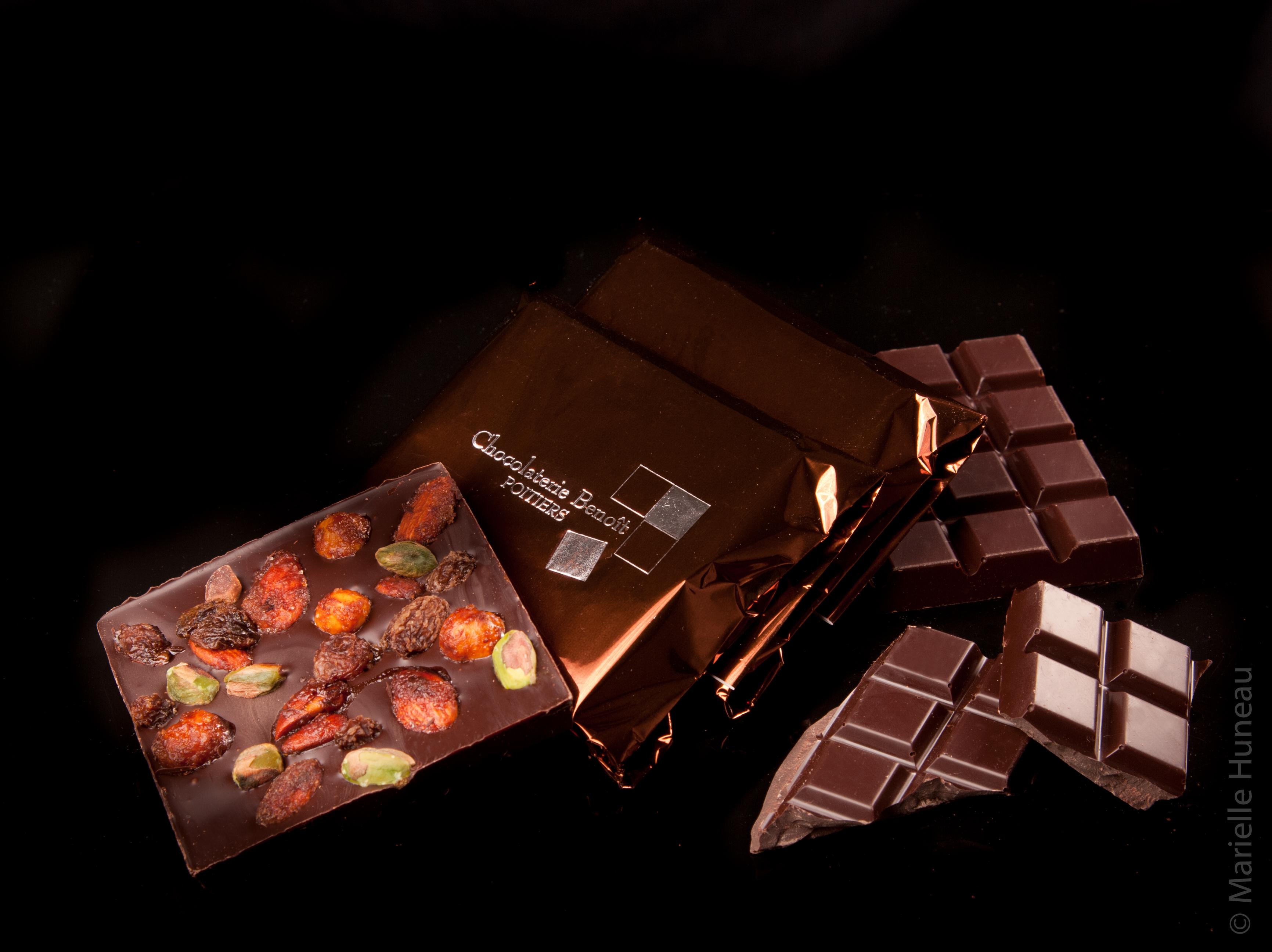 benoit chocolatier  les tablettes
